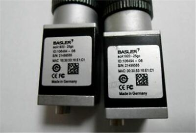 Used 1Pc Basler Ccd ACA1920-25GC Tested nt
