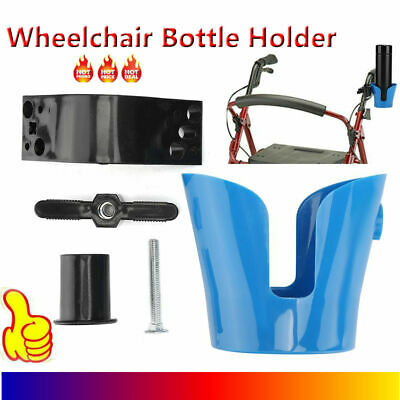 Water Bottle Coffee Cup Holder Mount Bracket For Bike Stroller Wheelchair Holder