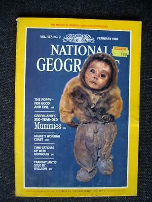 National Geographic Magazine  vol 167 no 2 (February 1985)