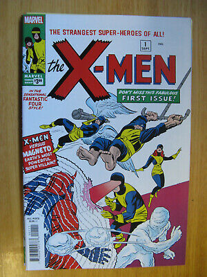 X-Men #1, Facsimile Edition, Reprinting First Appearance Of The X-Men - 2019.