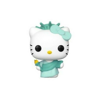 Funko Pop Hello Kitty Lady Liberty NYCC Shared Exclusive New w/soft protector
