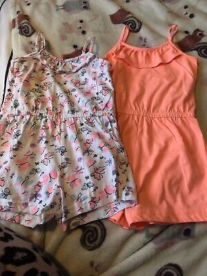 Little Girl 2-3 PRETTY Outfit/ Playsuits Summer Primark X2 BNWOT