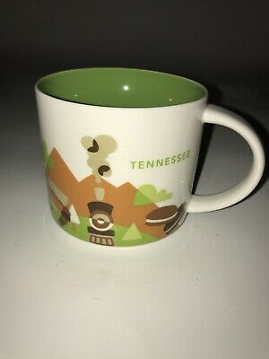 """Starbucks Tennessee """"You Are Here"""" Coffee Mug 14 Oz Collection 2015"""
