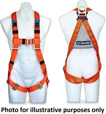Spanset FULL BODY FALL ARREST HARNESS Carbon Steels Buckles, Fully Adjustable
