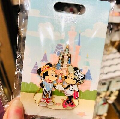 Disney Parks Shanghai 2019 Mickey & Minnie Collection Trading Pins