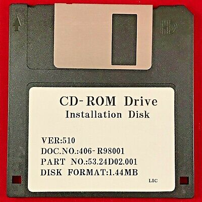 VINTAGE CD-ROM Drive Installation Disk Version 5.10 Release 1998