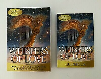 Whispers of Love Oracle Cards by Angela Hartfield & Josephine Wall Tarot
