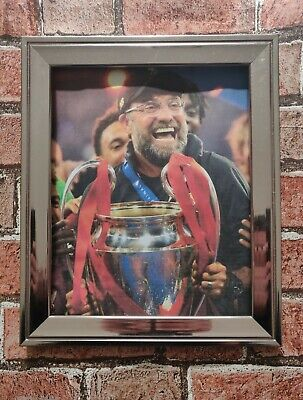 Liverpool FC Klopp European Cup Football Picture Poster Print Choice Of 2