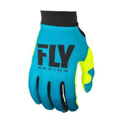 Fly Racing Girls Handschuhe Lite Blau/Hi-Vis