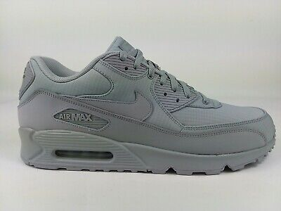 Nike Air Max 90 Essential Mens WhiteArmory Blue 537384 133