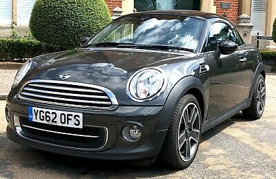2012 (62) MINI Cooper 1.6 Coupe 3dr Chili Pack Start Stop Manual