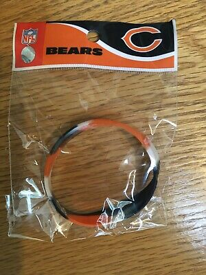 Chicago Bears NFL Tye-Dye Silicon Rubber Bracelet Forever Collectibles Wristband