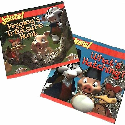 2 x Jakers CBBC Childrens Kids Farm Animal Picture Story Book (BoCo2)