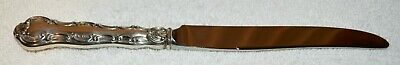 """Strasbourg~Sterling~Lion-Anchor-G, 1897~by GORHAM~New French Hollow Knife 8-7/8"""""""