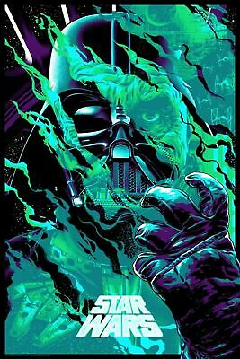 Anthony Petrie Darth Vader Star Wars HIS DEEDS WILL NOT BE FORGIVEN VARIANT NYCC