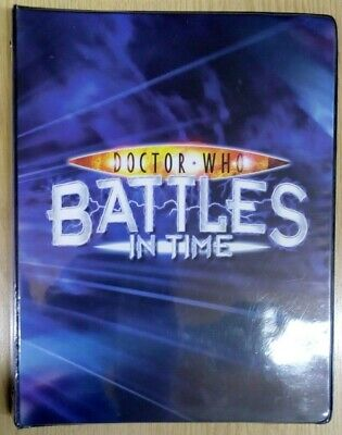 Doctor Who 'Battles In Time' A4 Folder 156 Trading Cards BBC Invader Devastator