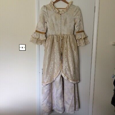 Ladies Tabi's Characters Victorian Style Cream Dress Costume