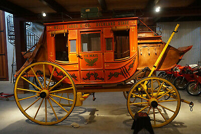 Concord Stagecoach Horse Drawn Carriage reproduction coach