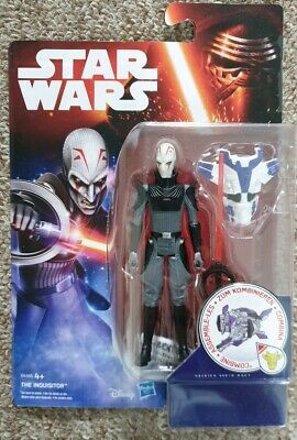 """Star Wars Rebels The Force Awakens The Inquisitor 3.75"""" Action Figure New"""