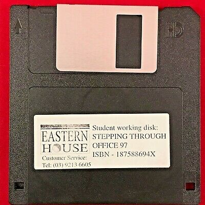 VINTAGE Eastern House Melbourne Victoria Stepping Through Microsoft Office 1997!