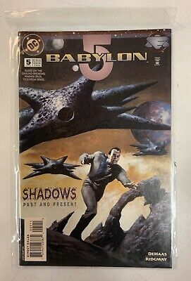 Babylon 5 Shadows Past & Present DC Comics June 1995 #5