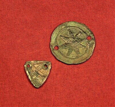 Lot of 2 Medieval Harness Ornament 12. Century