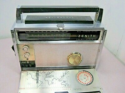 Vintage Zenith Trans-Oceanic FM AM Multiband Royal 3000-1 All Transistor Radio
