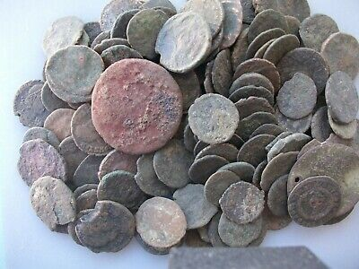 Low Grade Junk Ancient Uncleaned Roman Coin