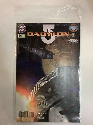 Babylon 5 Laser Mirror Starweb Pt 1 DC Comic Book October 1995 Issue #9