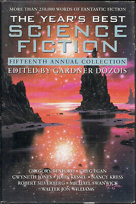 A Hardcover, The Year's Best Science Fiction edited by Gardner Dozois