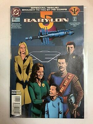 Babylon 5 Psi Corps Special Issue DC Comic Book December 1995 Issue #11