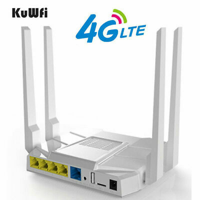 OPENWRT 300MBPS WIRELESS Router LTE 3G/4G Wifi Router 4*5dBi