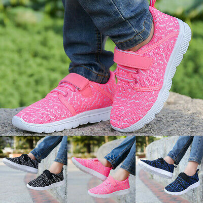 Child Kids Boy Girl Mesh Breathable Lightweight Comfortable Outdoor Casual Shoes