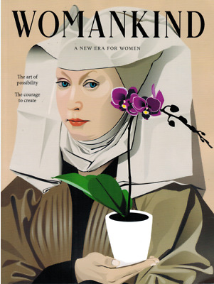 Womankind magazine #21 new era for women AU SELLER
