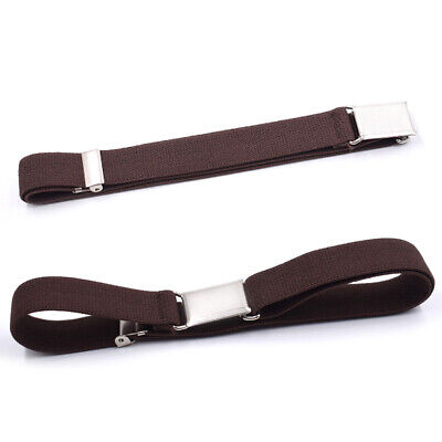 Kids Boys Girls Wide Adjustable Belt Decorative Stretch Elastic With Buckle