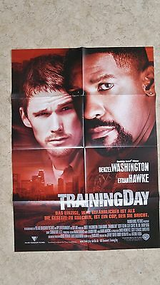 (P331) Orig. Kinoplakat TRAINNING DAY Denzel Washington Ethan Hawke