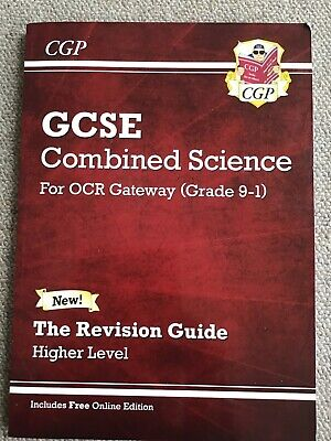 GCSE combined science, for OCR Gareway (grade 1-0), revision guide