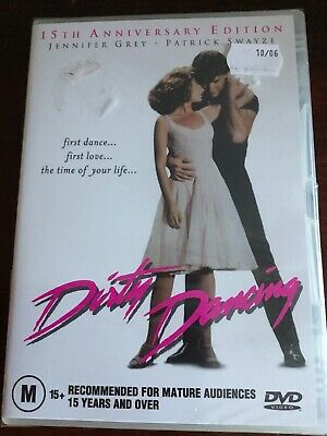 DIRTY DANCING Jennifer Grey Patrick Swayze New Sealed DVD R4 PAL