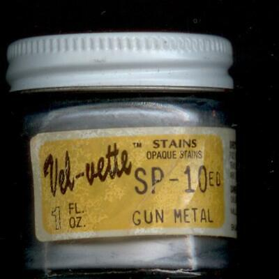 Vel-vette Stains, Opaque, SP-10 Gun Metal, 1 Fl oz, Old but New