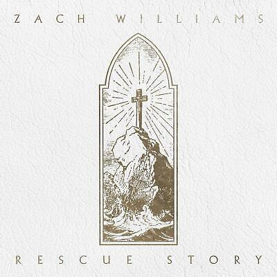 Rescue Story Zach Williams PROVIDENT MUSIC GROUP Christian Discs 1 Audio CD NEW