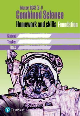 Edexcel GCSE 9-1 Combined Science Homework Book Foundation T