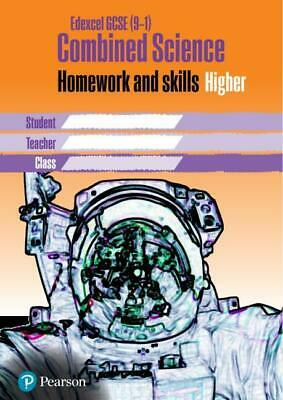 Edexcel GCSE 9-1 Combined Science Homework Book Higher Tier