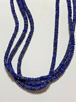 FANTASTIC - AMAZING NECKLACE of ROMAN Lapis Lazuli beads.circa 100-400 AD