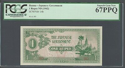 BURMA 100 Rupee Japanese Invasion Money  1942 OCCUPATIONAL CURRENCY UNCIRCULATED