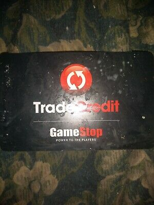 Scratched Game Stop * Used Collectible - Trade Credit & Gift Card NO VALUE *