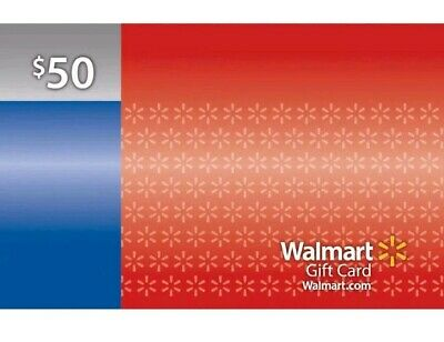 Walmart * Used Collectible Gift Card No Value * Red