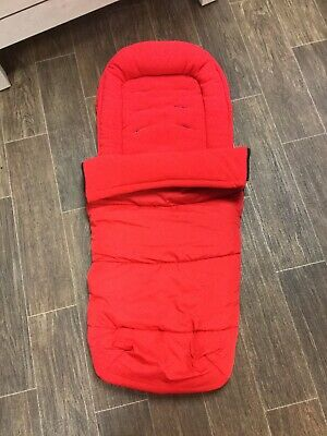 iCandy Raspberry Footmuff Cosytoes Lush Red Brand NEW