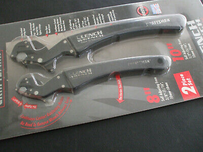 Craftsman Clench Wrench Set 8'' And 10''