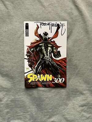 Spawn #300 2nd Print Variant (2019) NM SIGNED BY TODD MCFARLANE NYCC