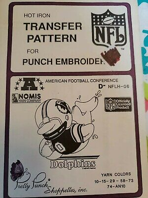 Pretty punch patterns NFL